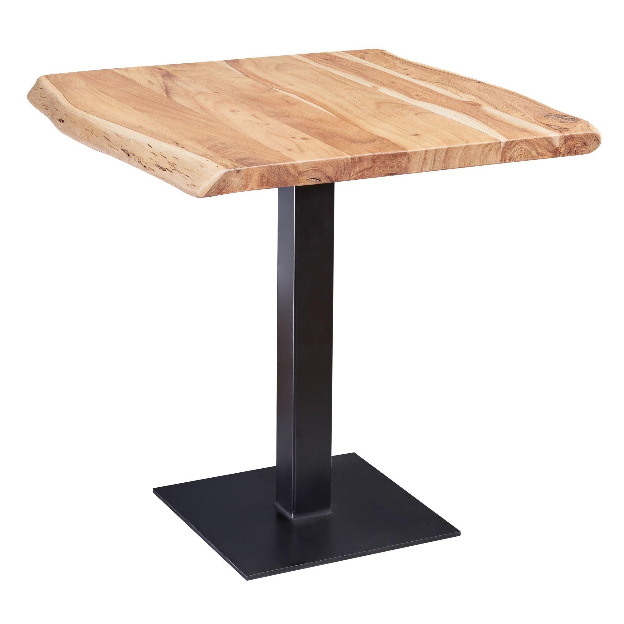Erst Holz® Tisch Kleiner Esstisch Massivholztisch weiß