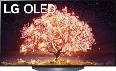 LG OLED55B19LA OLED-Fernseher (139 cm/55 Zoll, 4K Ultra HD, Smart-TV, (bis zu 120Hz), α7 Gen4 4K AI-Prozessor, Twin Triple Tuner, Sprachassistenten, HDMI 2.1)