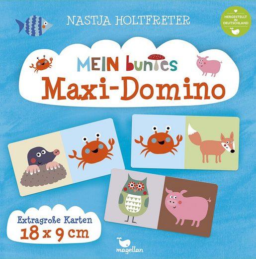 Magellan Spiel, Domino-Spiel »Mein buntes Maxi-Domino«, Hergestellt in Deutschland