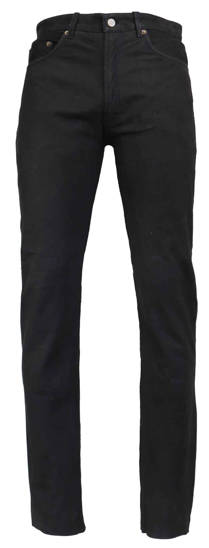 RICANO Lederhose »RT-101« Hochwertiges Büffel-Nubuk Leder ; 5-Pocket-Stil - Lederjeans