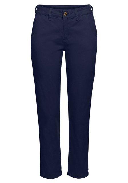Hosen - Boysen's 7 8 Hose mit modischem Seitenstreifen › blau  - Onlineshop OTTO