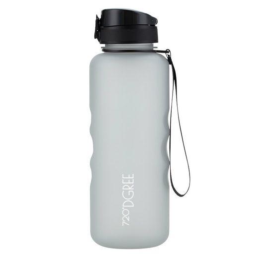 720°DGREE Trinkflasche »uberBottle«, Trinkflasche, Wasserflasche, 1500ml, Auslaufsicher, Sportflasche, für Schule, Sport, Fahrrad, Outdoor, Wandern, mit Früchtesieb
