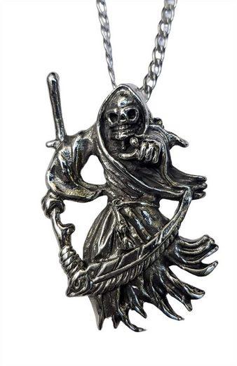 Beier Halsband »Anhänger Edelstahl Grim Reaper«