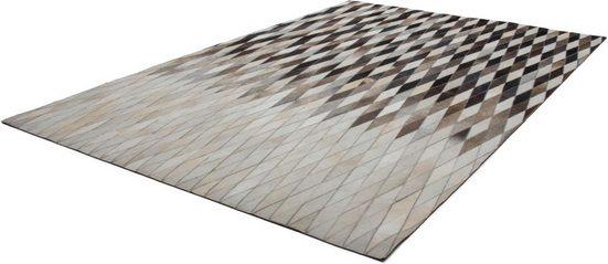 Fellteppich »Dakota 900«, calo-deluxe, rechteckig, Höhe 8 mm, echtes Rinderfell, Wohnzimmer