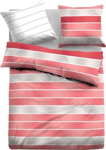 Bettwäsche »Chiara«, TOM TAILOR, mit unterschiedlichen Streifen