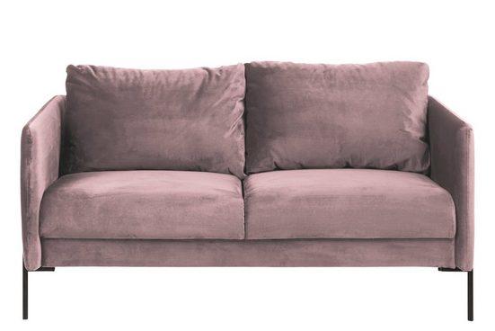 ebuy24 Sofa »Kimmy Sofa 2,5 Sitzer rosa.«
