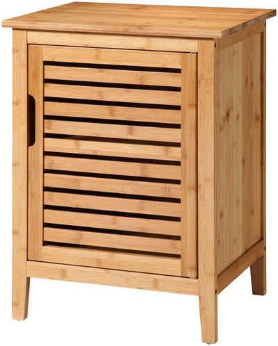 welltime Unterschrank »Bambus« Breite 50 cm, aus natürlichem Bambus gefertigt, stabil, solide und umweltfreundlich