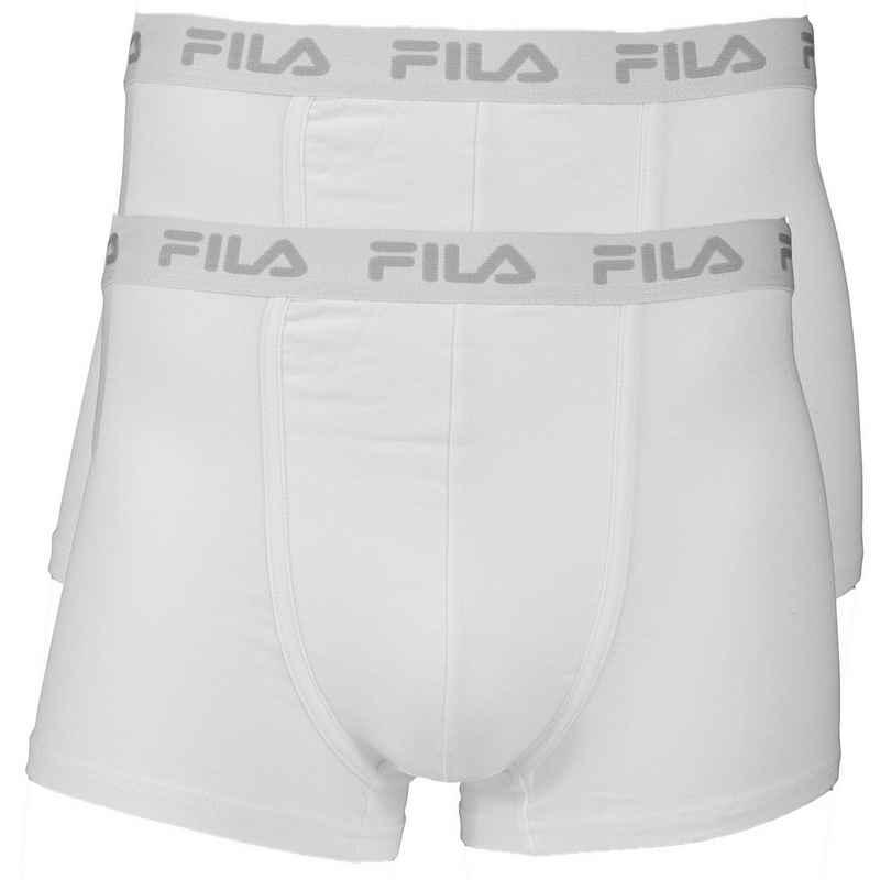 Fila Boxer »Herren Boxer Shorts 2er Pack - Logobund, Cotton«