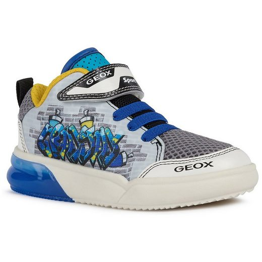 Geox »Sneakers High Blinkies GRAYJAY für Jungen« Sneaker