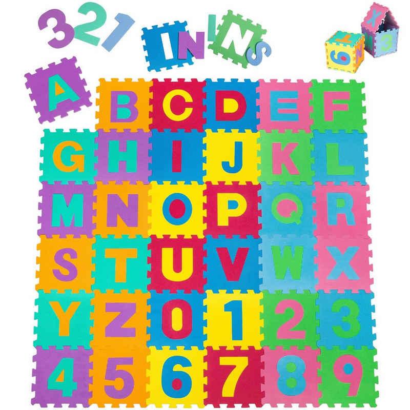 tectake Puzzlematte »Puzzlematte 86-tlg.«, (86-tlg)