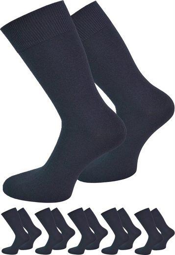 normani Diabetikersocken »6 Paar Herrensocken For Men« (2er-Set, 6 Paar) handgekettelte Fußspitze