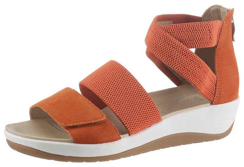 Ara »NAPOLI« Sandalette mit Fersen-Reißverschluss, H-Weite