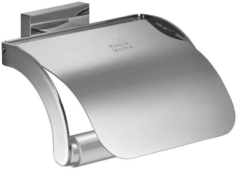 Kleine Wolke Toilettenpapierhalter »Meo«, Messing/Edelstahl