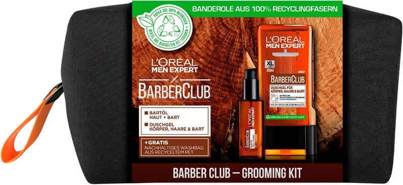 L'ORÉAL PARIS MEN EXPERT Bartpflege-Set »Barber Club Bag«, 3-tlg.