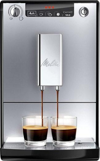 Melitta Kaffeevollautomat CAFFEO Solo E950-103 silber-schwarz