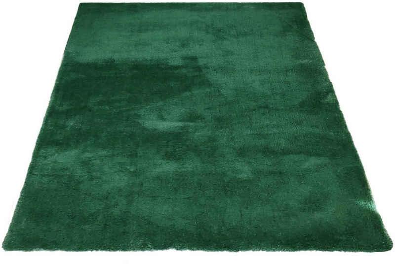 Hochflor-Teppich »Magong«, my home, rechteckig, Höhe 25 mm, besonders weich durch Microfaser, Wohnzimmer