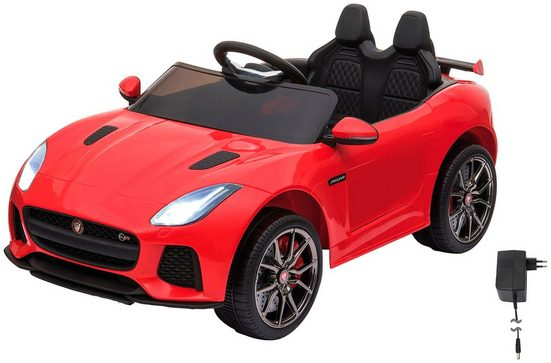 Jamara Elektro-Kinderauto »Ride-on Jaguar F-Type SVR«, Belastbarkeit 25 kg