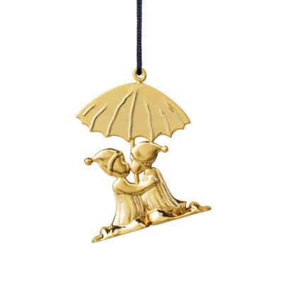 Rosendahl Christbaumschmuck »Weihnachtsbaumschmuck Kuss vergoldet«