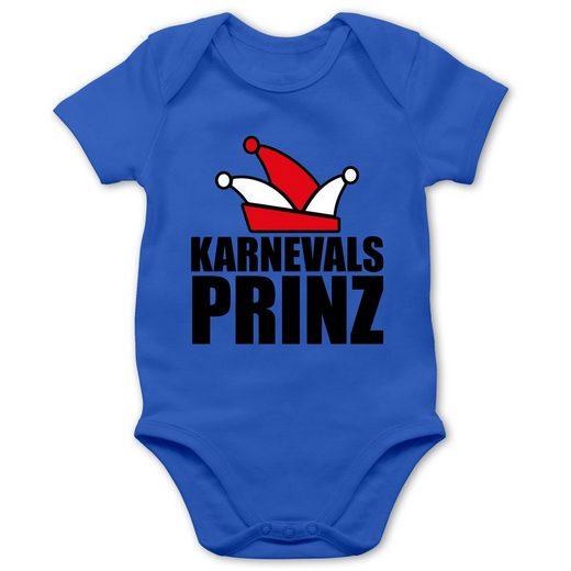 Shirtracer Shirtbody »Karnevals Prinz - Baby Body Kurzarm«