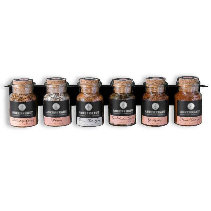 Leckerhelfer - automatisch Lecker Gewürzregal »Regal Gewürzregal passend für die Gewürze von Ankerkraut®«, 1-tlg.