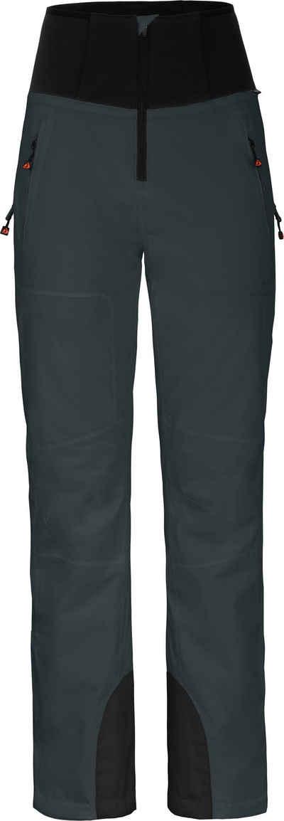 Bergson Skihose »MIEN Slim« Damen Skihose, wattiert, 20000 mm Wassersäule, Normalgrößen, dunkel grau