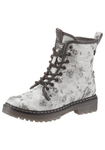 Mustang Shoes Žieminiai batai su Blumenprint