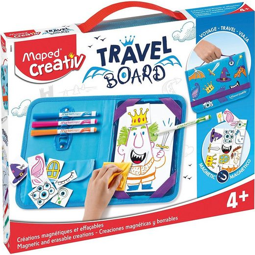 MAPED Tafel »Maped Magnetische Tafel TRAVEL BOARD«
