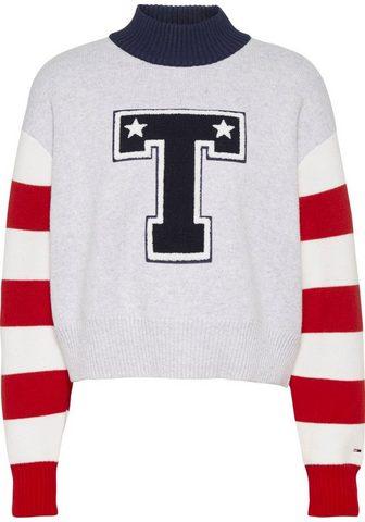 Tommy Jeans Tommy Džinsai Megztinis »TJW VARSITY S...
