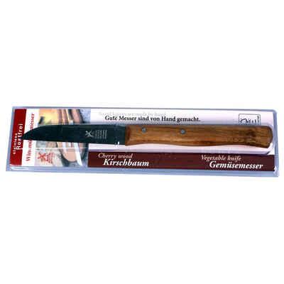 Windmühlenmesser Gemüsemesser »Solingen Küchenmesser 85mm mit Kirschbaum−Holzgriff«