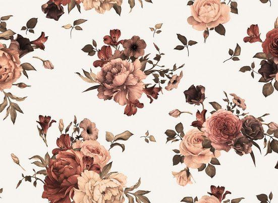 living walls Fototapete »Designwalls Flower Bouquet 2«, glatt, (5 St)