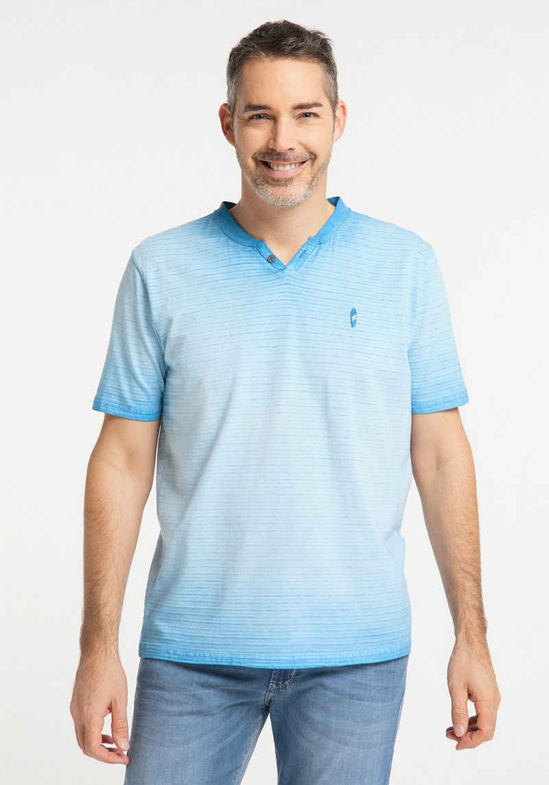 Pioneer Authentic Jeans T-Shirt »Henley T-Shirt«