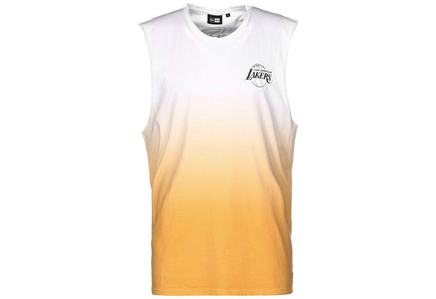 new era -  Tennisshirt »Nba Los Angeles Lakers Dip Dye«