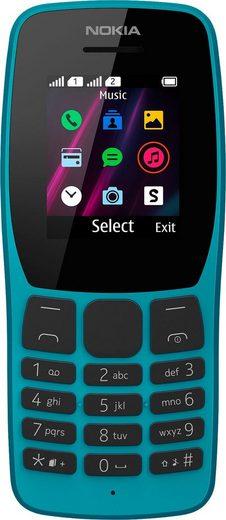 Nokia 110 Handy (4,49 cm/1,77 Zoll, 0,004 GB Speicherplatz)