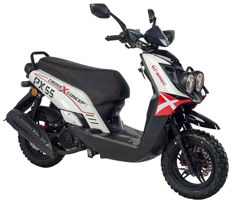 GT UNION Motorroller »PX 55 Cross-Concept«, 125 ccm, 85 km/h, Euro 5