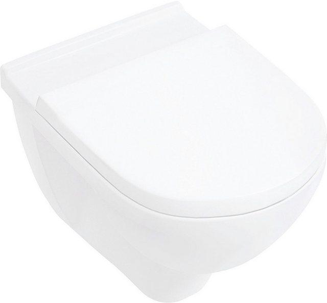 WCs und Zubehör - Villeroy Boch Sparset Wand WC »O.Novo directflush spülrandlos«  - Onlineshop OTTO