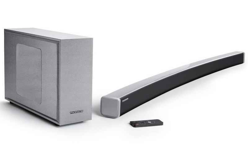 Thomson 2.1 Sound-System TV Soundbar mit Subwoofer Subwoofer (Bluetooth)