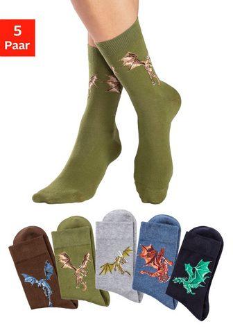 H.I.S Socken (5-Paar) su unterschiedlichen D...