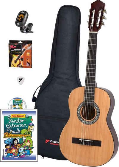 Voggenreiter Kindergitarre »Voggys Kindergitarren-Set« 1/2