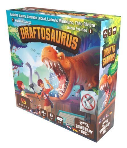Board Game Box Spiel, Brettspiel »Draftosaurus«