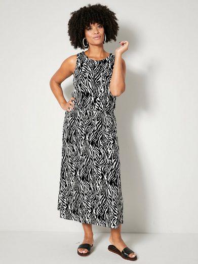 Angel of Style by HAPPYsize Jerseykleid mit Gummizug in der Taille