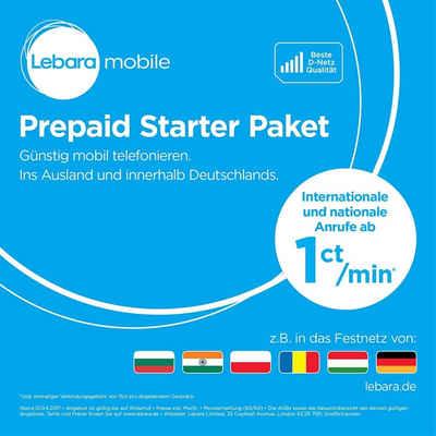 Lebara »Starterpaket - Prepaid Karte - 10 Euro« Prepaidkarte
