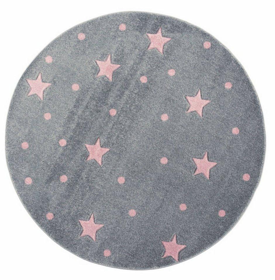 Kinderteppich »Heaven rund«, Kids Love Rugs, rund, Höhe 8 mm, weicher Flor  online kaufen   OTTO