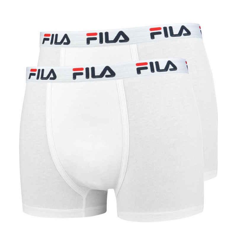 Fila Boxer »Herren Boxer Shorts, 2er Pack - Baumwolle,«