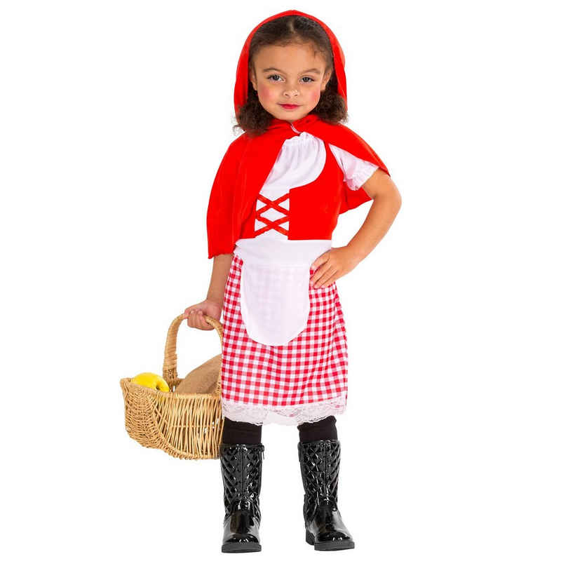 dressforfun Kostüm »Süßes Kinderkostüm Rotkäppchen«