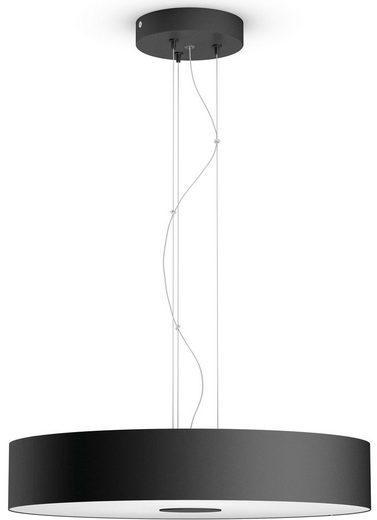 Philips Hue LED Pendelleuchte »Fair«, LED Pendelleuchte, schwarz, 3000 Lumen