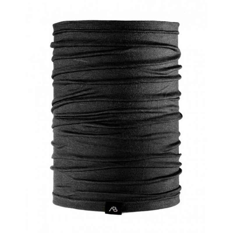 A. Blöchl Multifunktionstuch »Schlauchschal Lite Merino Wolle schwarz« nahtloser, multifunktionaler Schlauchschal