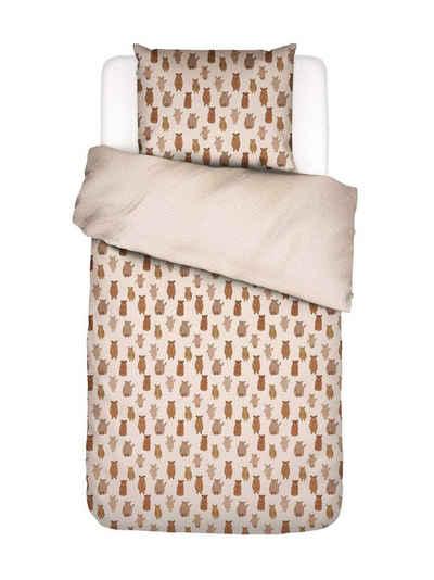 Bettwäsche »Beary much«, Covers & Co, aus GOTS-zertifiziertem Baumwollperkal