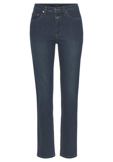 Hosen - Bruno Banani 5 Pocket Jeans mit zwei Knöpfen › blau  - Onlineshop OTTO