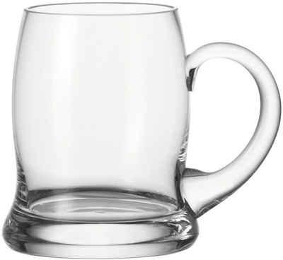 LEONARDO Bierglas »Brauhaus Bar«, Glas, 500 ml, 6-teilig