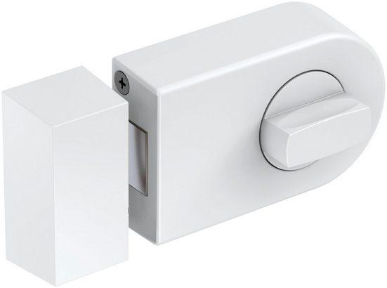 BASI Türzusatzschloss »Dornmaß 45 mm - weiß (abgerundet)«, Kastenschloss KS 500